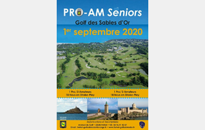 PRO AM Seniors SABLES D'OR